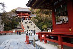 Tsurugaoka Hachiman built in 1191 Kamakura city, Kanagawa  pref. takes an hour from Tokyo you should go!