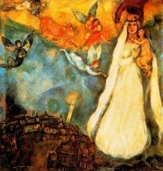 Madonna of the Village - 1938-1942 - Marc Chagall