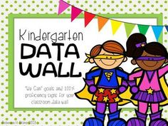 Data, data, data- have you had enough of that word yet?  Is your administration requiring a space in your classroom to display data?  Use these goals to make it visually appealing!