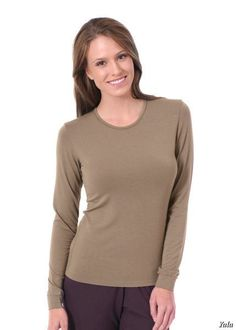 Meet simple classic style in three classic shades: our Long Sleeve Crew needs no other introduction.