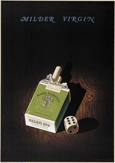 cigarettes Salem N°6 - 1955 - (Leupin Herbert) -