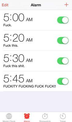 Early mornings. Nurse life. Nurse humor. Nursing funny. Nurses problems.