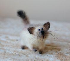 Gebreide kat