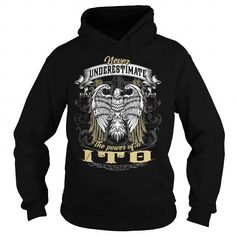 I Love  ITO, ITO T Shirt, ITO Tee Shirts & Tees