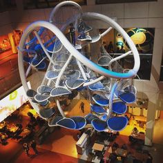 The infinity climber at @libertysciencecenter is the coolest thing ever! #LSCExplore #libertysciencecenter