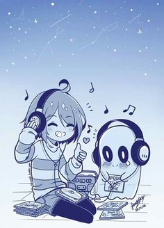 frisk, music, and frisk the human image