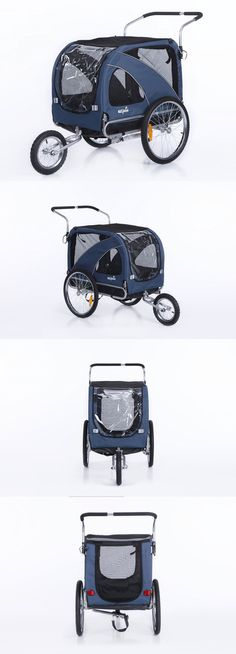 Strollers 116380: Sepnine 2 In1 Large Pet Dog Bike Trailer Bicycle Trailer And Stroller Jogger 102 -> BUY IT NOW ONLY: $176.87 on eBay! Dog Bike Trailer, Pet Dogs, Pets, Large Animals, Strollers, Dog Training, Joggers, Bicycle, Puppies