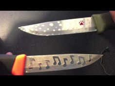 ▶ how to acid etch a knife - YouTube
