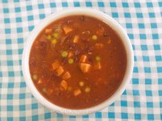 Easy Minestrone Soup from CDKitchen.com Chicken Broth Soup, 5 Star Recipe, Frozen Vegetables, Kidney Beans, Italian Seasoning, Crockpot Recipes, Tomatoes, Slow Cooker, Crock Pot