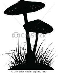 Image result for mushroom silhouette