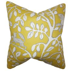 This cheerful and pretty accent pillow is a must-have for your home. Reinvent your living space in time for spring and summer with this floral throw pillow. Adorned with blooming floral print, this square pillow will surely brighten up your interiors.
