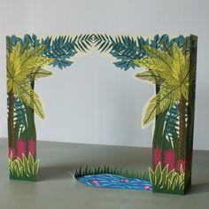 Fabriquez un petit théâtre en papier