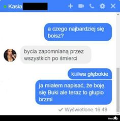 OCHUJ XDDDDDDDD Funny Sms, Funny Text Messages, Wtf Funny, Funny Texts, Text Memes, Haha, Jokes, Humor, Quote