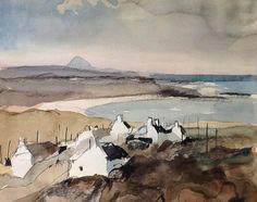 Rowland Hilder   The Hebrides   sketch
