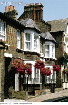 Row houses in Greenwich England