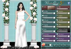 juega y elige online tu vestido de novia. Bodas