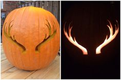 October 3, 2014 - carved antlers <3