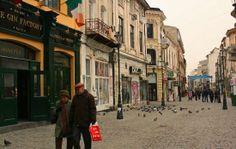Bucharest, Romania: Lipscani District