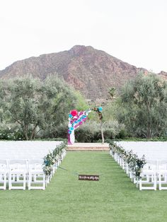 Colorful Mexican Heritage Inspired Wedding