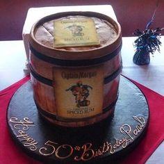 captain morgan birthday cake - Google Search