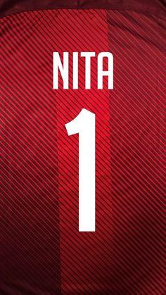 Dresy Nita Atari Logo, Soccer, Letters, Logos, Sports, Hs Sports, Futbol, European Football, Logo