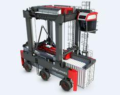 BOXRUNNER straddle carrier | container handling | Konecranes.com