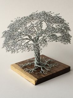 wire tree sculptures by clive maddison (6)
