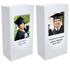 Custom Graduation Luminary Bag Decoration