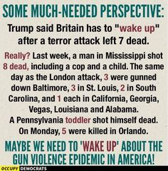 Trump, and our gun laws... and our tolerance for white male terrorism... all, a national disgrace.