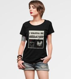 Camiseta I Wanna be Sedated - Ramones