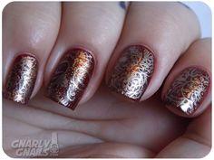 Art Deco Nail Art Design - http://yournailart.com/art-deco-nail-art-design/ - #nails #nail art #nails design #nail ideas #nail polish ideas