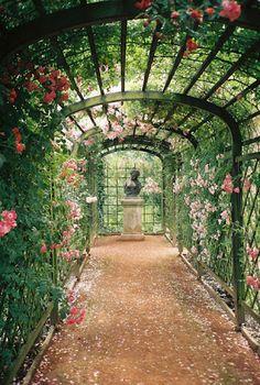 Rose walk this would be nice.  Especially on a warm day