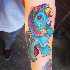 My little pony tattoo By: Rachel Halsey #mylittlepony #tattoo