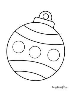 Christmas coloring pages - simple and fun - Joyeuxx Noel 2020 Winter Christmas Scenes, Colorful Christmas Tree, Christmas Colors, Simple Christmas, Christmas Bulbs, Elegant Christmas, Christmas Activities, Christmas Crafts For Kids, Holiday Crafts