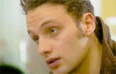 most men I prefer with a little bit of scruff but for Andrew Lincoln baby face all the way
