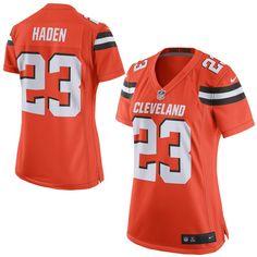 Joe Haden Cleveland Browns Nike Women's Game Jersey - Orange