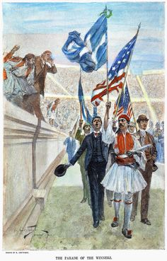 The Parade of the Winners Athens 1896