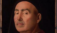Una sfida degli sguardi tra uomini antichi e contemporanei. A Napoli, il Ritratto di Antonello da Messina e i primi piani di cinque fotografi - Exibart.com