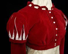 Beautiful detail work!!  velvet regency spencer jacket on Etsy