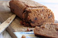 Almond Flour Pumpkin & Chocolate Chip Loaf  @The Urban Poser