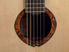 2009 McCollum J -  Acoustic Guitar - Eliptical Imbuya Burl and Abalone Rosette
