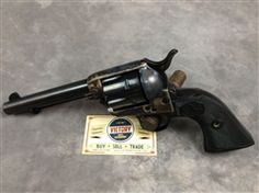 """This is a very cool, #professionally restored, excellent condition #Colt SAA #Single #Action #Army, 5.5"""" .45LC, 1st Generation, SN: 327xxx, dating the revolver to 1913 and puts it into the intermediate smokeless powder serial number range. The #revolver was restored by someone who wanted to fire it. @victoryggw"""