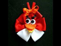 Angry Birds Hair Bow Tutorial