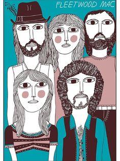 Marcus Oakley, Fleetwood Mac.