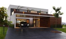 The images that existed in Modern Home Exterior Design are consisting of best images and high quality pictures. These many pictures of Modern Home Exterior Design list may become your inspiration and informational purpose. Modern Exterior, Exterior Design, Modern Garage, Modern Carport, Modern Driveway, Carport Canopy, Carport Ideas, Carport Garage, Residential Architecture
