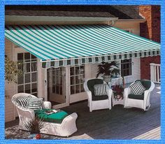 custom awnings,retractable awnings,motorized awnings