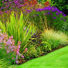 water wise tips. Love the grasses mixed with ground cover and small shrubs Eco Garden, Dream Garden, Garden Plants, Water Wise Landscaping, Garden Landscaping, Landscaping Ideas, Backyard Ideas, Drought Tolerant Landscape, Small Shrubs