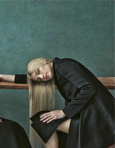 "Karin Hansson, Josefine Nielsen, Sophia Nilsson, Cecilie Deisting Skejø and Nora Lony in ""Palazzo D'inverno. Lo Stile. Ora""byJulia Hettaf..."