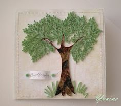 quilled tree!