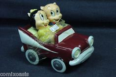 Electronics, Cars, Fashion, Collectibles, Coupons and Salt Pepper Shakers, Salt And Pepper, Salt Cellars, Bugs Bunny, Looney Tunes, Petunias, Warner Bros, Pigs, Baby Items